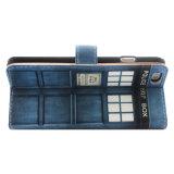 [أم] طباعة محفظة [بو] جلد هاتف حالة لأنّ [إيفون6] فعليّة