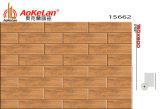 150x600mm de cerámica esmaltada azulejo rústico en madera para Comedor