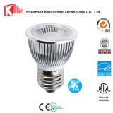 AC110V 120V PAR16 LEDの球根7W 50Wの等量600の内腔3000k