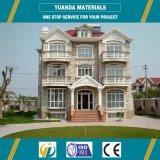 Chalet prefabricado de la casa del estilo de las construcciones americanas del marco