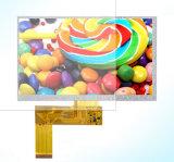 Montaje capacitivo de la pantalla táctil del coche TFT LCD de 7 pulgadas