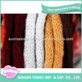 Filato robusto eccellente ingombrante di nylon di lavoro a maglia delle lane dei reticoli della sciarpa