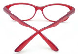 R17587 venden al por mayor los vidrios de lectura coloridos del marco de las lentes plásticas baratas de la lectura