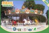 Electric Merry-Go-Round 26 lugares de carrossel de luxo para parque de diversões