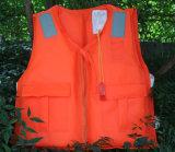 Jaqueta de vida inflável e colete de vida, jaquetas de vida à vela, jaqueta de vida