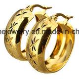 De Oorring van het Gouden Plateren van de Vrouwen van de Manier van de Juwelen van Shineme (ERS7011)