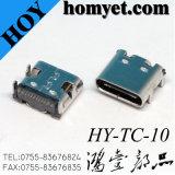 3.1 USB no conector USB do tipo C do conector fêmea de produto Produto de telefonia móvel digital