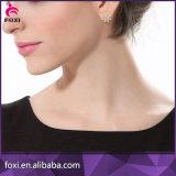 Modèles simples de boucle d'oreille d'or de modèle neuf d'arrivée pour des femmes