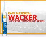 Sampel libero Acetoxy/Stanza-Curare il sigillante trasparente del silicone dell'universale RTV/adesivo di vetro