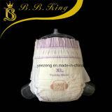 Coton doux bon marché avec absorbant à haute absorption Fabricant de couches pour bébés