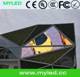 Myledの三角形HDは創造的なデザイン高品質の屋外のレンタル小さいピクセルピッチP3.91 LED表示を防水する