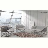 現代スィッラの椅子の金属ファブリックソファーのオフィス用家具