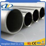 ASTM 201 304 316 321 sans joint et pipe soudée d'acier inoxydable