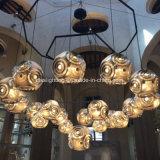 가장 새로운 디자인 다이아몬드 Ce/UL로 수교하는 불규칙한 공 펀던트 램프