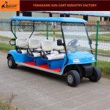 6 Seaterのゴルフコースのための電気ゴルフカート