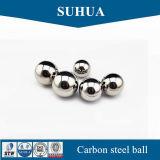 bola de acero de carbón de 8m m para la bola de metal sólida del rodamiento