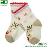 Оптовая дешевая таможня рождества ягнится носок способа