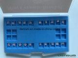 Parentesi di ceramica ortodontica della base della maglia del Ce della FDA di iso di Denrum
