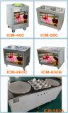 Icm-980 Factory Direct frit vendre de la crème glacée double pan de la machine
