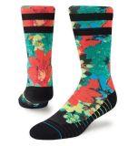 Красного цветка Паттен дизайн Elite носки мужчин платья носки установите противоскользящие Scoks лодыжек