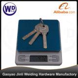 Bloqueo de puerta de aluminio al por mayor de la puerta de vidrio de desplazamiento del surtidor con clave