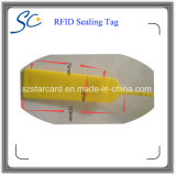 Etiqueta de vedação RFID descartável de 13,56 MHz para segurança