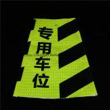Cone de advertência do tráfego da segurança fluorescente do PVC