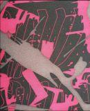 Oxford tissu de polyester d'impression 900d