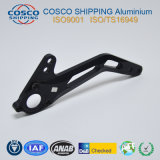 Profil en aluminium/aluminium personnalisé avec l'usinage CNC & anodisé coloré (ISO9001 : 2008 certifié & RoHS certifié)