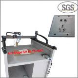 Venta caliente que pega la máquina adhesiva del derretimiento caliente de la máquina para el interruptor de la pared