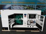Dreiphasen60hz Cummins 40kVA leiser elektrischer Dieselgenerator
