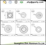 De vierkante Uitdrijving Heatsink van het Profiel van het Aluminium