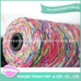 Fios de desconto online padrões de tricotar Rayon fios de luxo do Cone