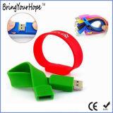 Pulsera de silicona personalizadas Pulsera USB (USB-XH-031)