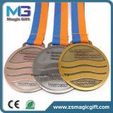 Medaglia antica del metallo dell'oro personalizzata alta qualità