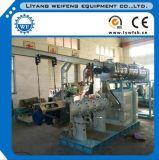 Extrusora gêmea da alimentação de vapor molhado do parafuso, máquina de amontoamento, extrusora do moinho de alimentação dos peixes