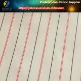 Tela barata cor-de-rosa do forro da listra do poliéster para o terno dos homens/vestuário (S114.116)