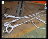 Одиночная веревочка провода 7X7X7 ноги положенное Слинг-Кабелем