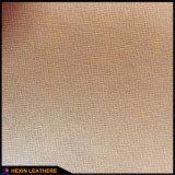 Color sintético cambio de cuero de la PU para la cubierta del cuaderno Hx-0708
