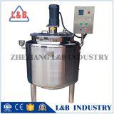 En acier inoxydable de qualité alimentaire cuve de mélange de chauffage électrique