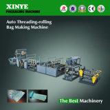 Auto Threading Rolling Garbage Bag Making Machine