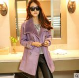 Inverno Real Shearling Coat and Fur Coat para Lady Long Style