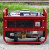 Lärmarmer Ohv mini einphasig-elektrischer Anfangstreibstoff-Hauptgenerator Bison-China-1 KV-Generator