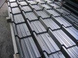 La hoja de la azotea del perfil del rectángulo/acanaló las hojas de acero del material para techos