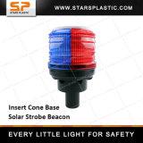 Lumière stroboscopique solaire LED pour la sécurité routière