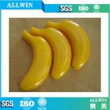 Jabón hecho a mano natural de la dimensión de una variable del plátano