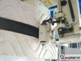 매트리스 꿰매는 로고 및 지퍼 기계