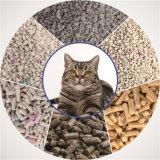 Litière du chat intense d'OEM de groupement et de contrôle d'odeur