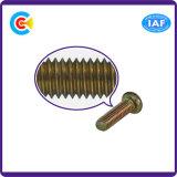 DIN/ANSI/BS/JIS kolen-staal/de zes-Kwab 4.8/8.8/10.9/Galvanized Van roestvrij staal met de Schroef van Nagels