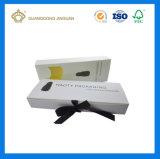 Plegable plano impreso caja de embalaje para el cabello la extensión (con el logotipo personalizado)